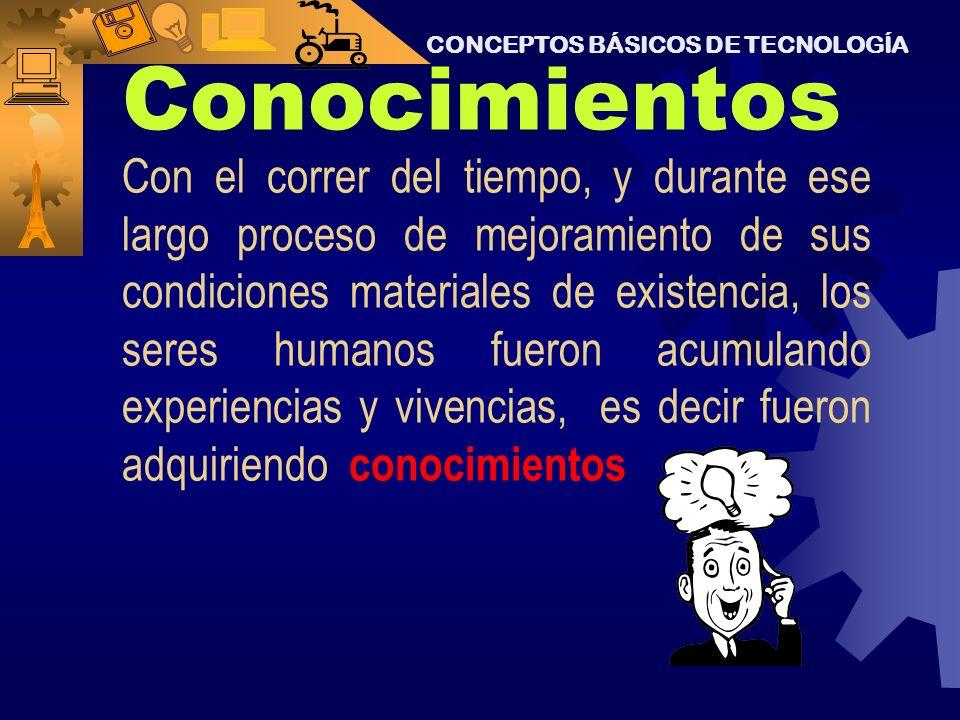 CONCEPTOS BÁSICOS DE TECNOLOGÍA