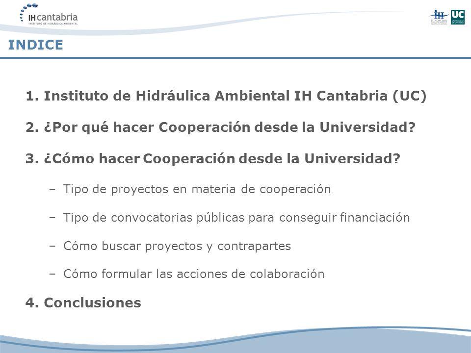 1. Instituto de Hidráulica Ambiental IH Cantabria (UC)
