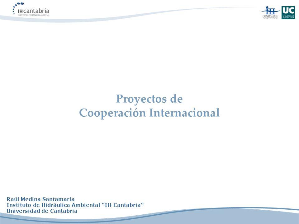 Proyectos de Cooperación Internacional