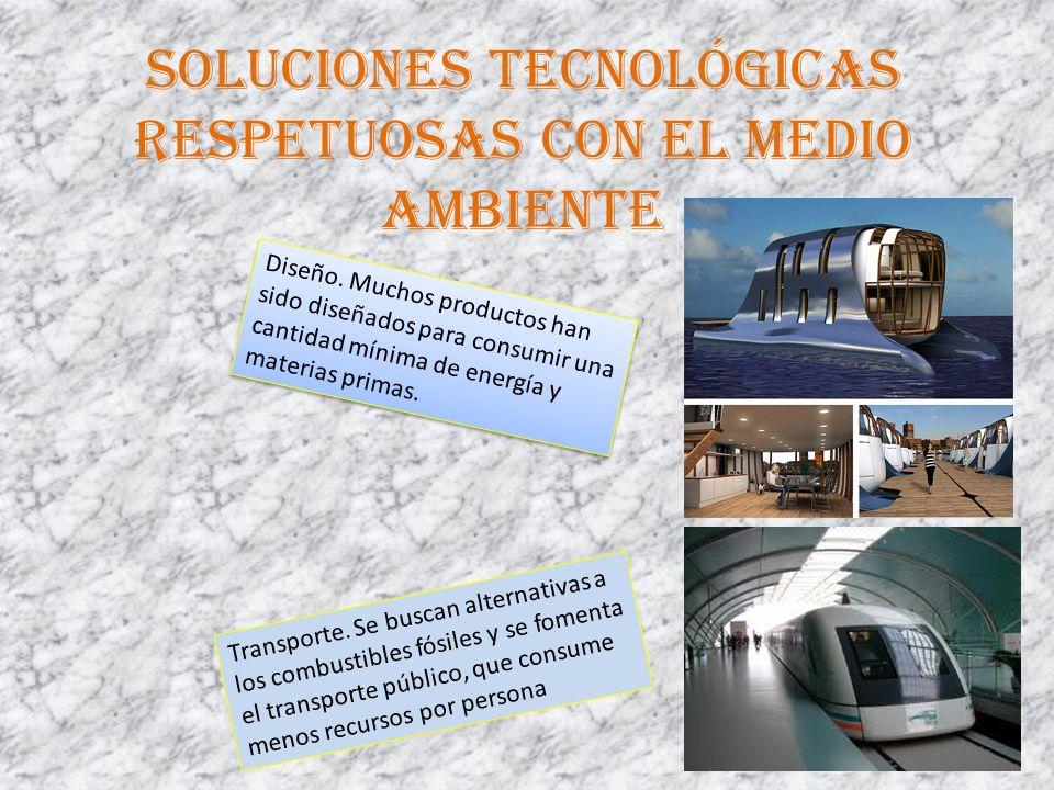 Soluciones tecnológicas respetuosas con el medio ambiente