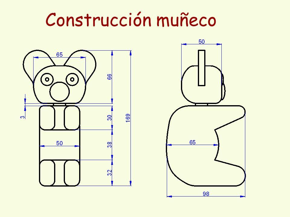 Construcción muñeco