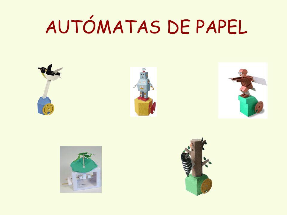 AUTÓMATAS DE PAPEL