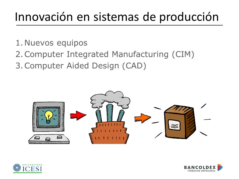 Innovación en sistemas de producción