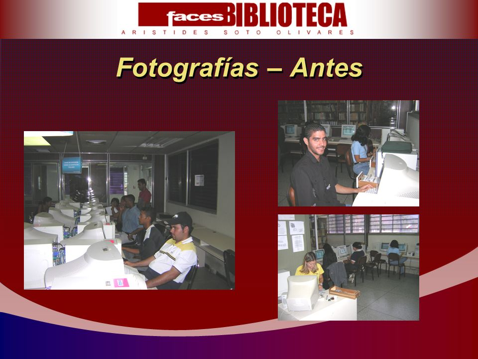 Fotografías – Antes