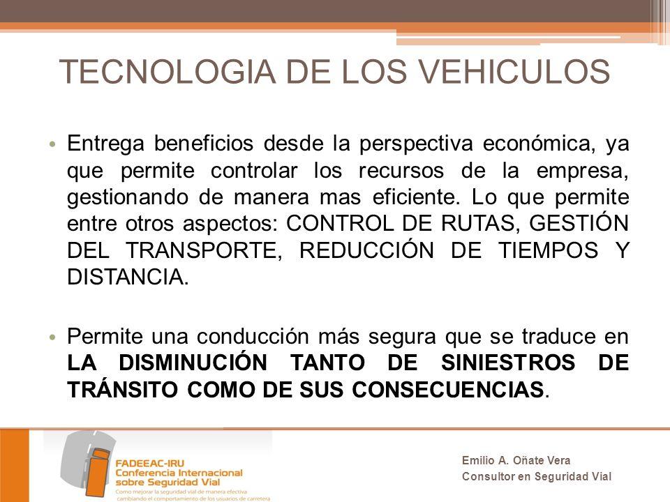 TECNOLOGIA DE LOS VEHICULOS