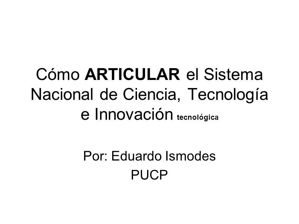 Por: Eduardo Ismodes PUCP
