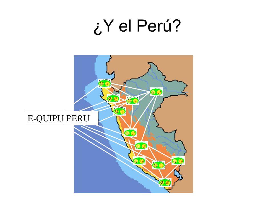 ¿Y el Perú E-QUIPU PERU