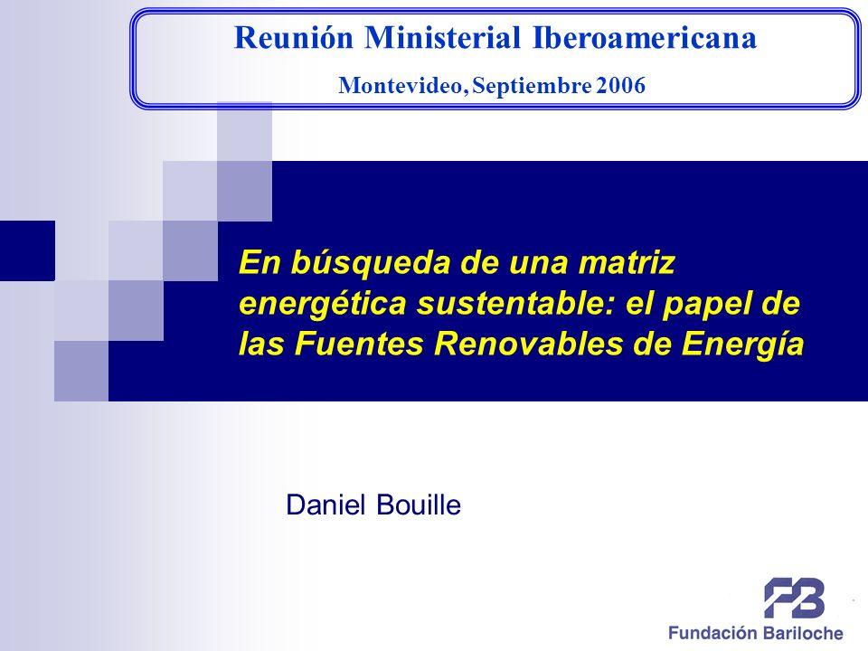 Reunión Ministerial Iberoamericana Montevideo, Septiembre 2006