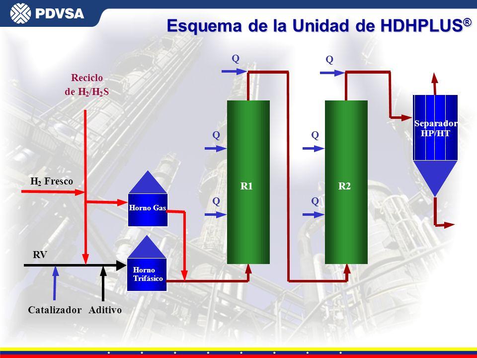 Esquema de la Unidad de HDHPLUS®
