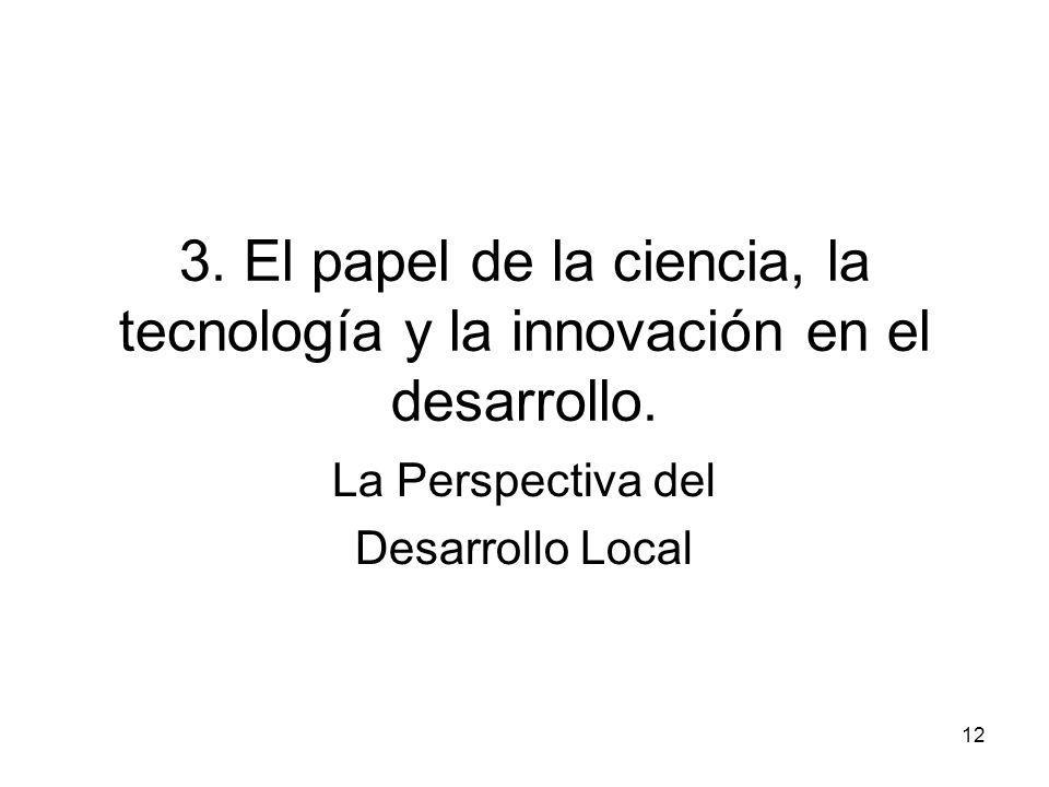 La Perspectiva del Desarrollo Local