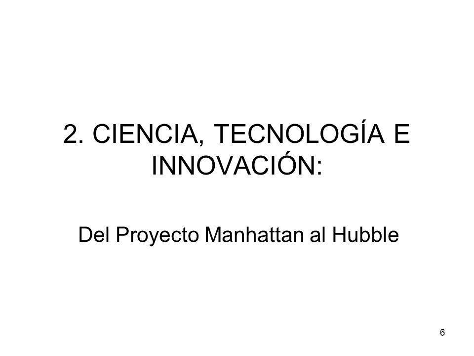 2. CIENCIA, TECNOLOGÍA E INNOVACIÓN: