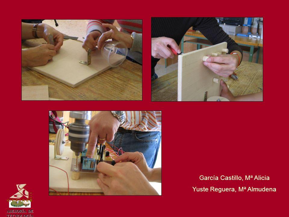 García Castillo, Mª Alicia Yuste Reguera, Mª Almudena