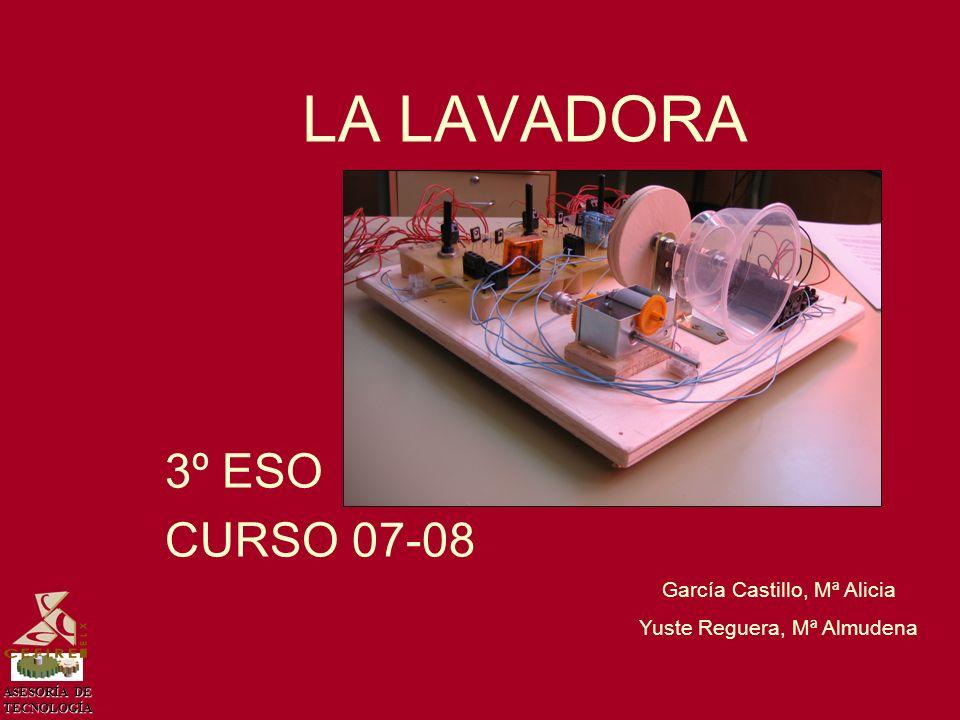 LA LAVADORA 3º ESO CURSO 07-08 García Castillo, Mª Alicia
