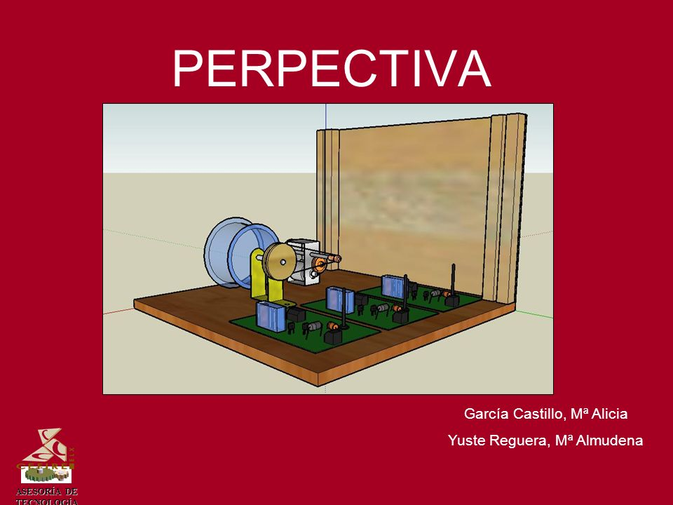 PERPECTIVA García Castillo, Mª Alicia Yuste Reguera, Mª Almudena