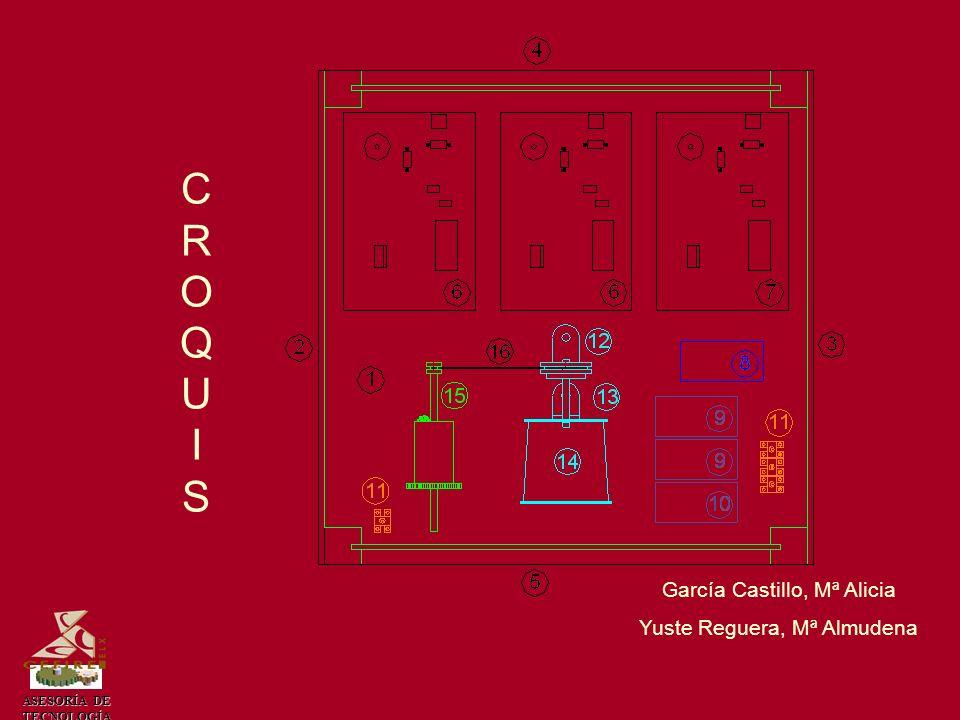 CROQUIS García Castillo, Mª Alicia Yuste Reguera, Mª Almudena