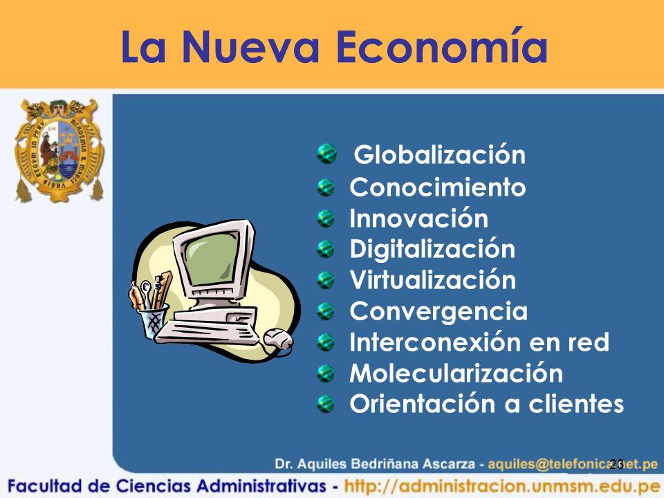 La Nueva Economía Globalización Conocimiento Innovación Digitalización