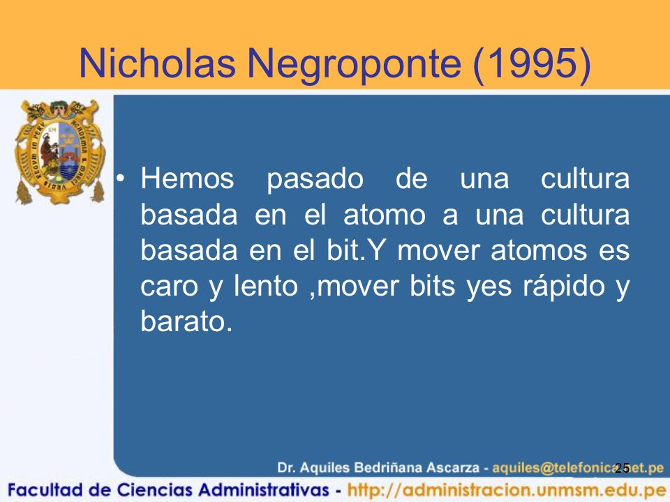 Nicholas Negroponte (1995)