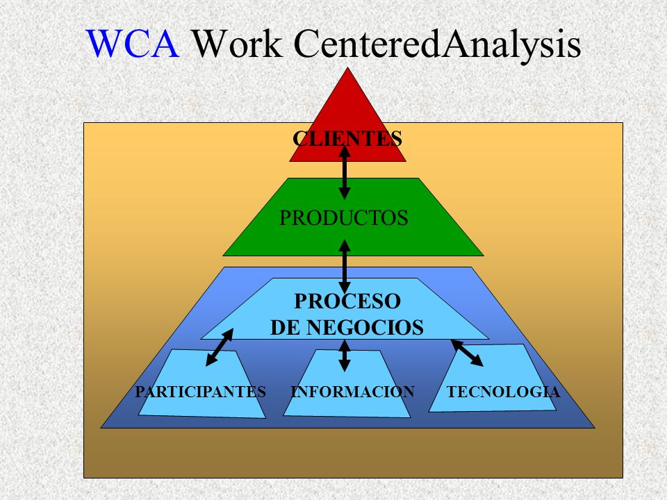 WCA Work CenteredAnalysis