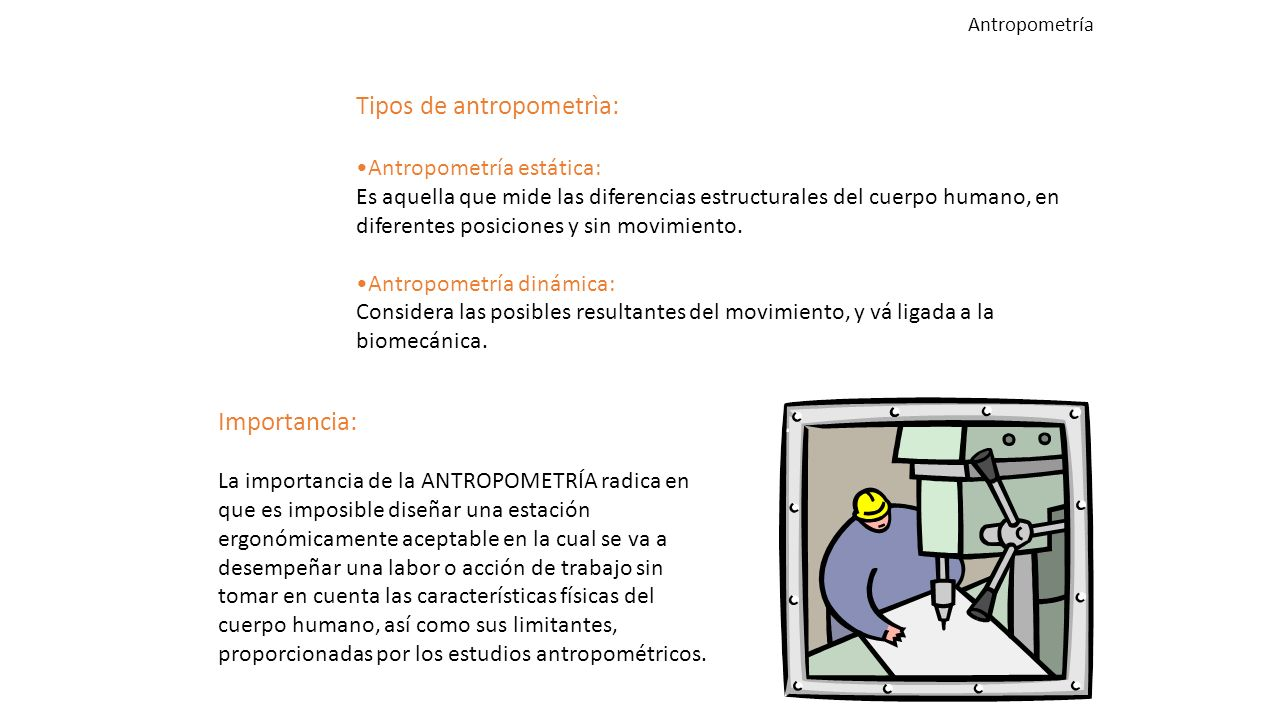 Antropometria ppt video online descargar for Antropometria estatica