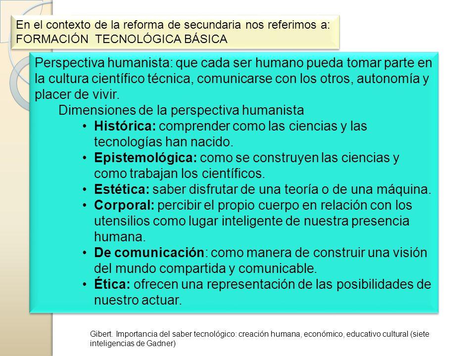 Dimensiones de la perspectiva humanista