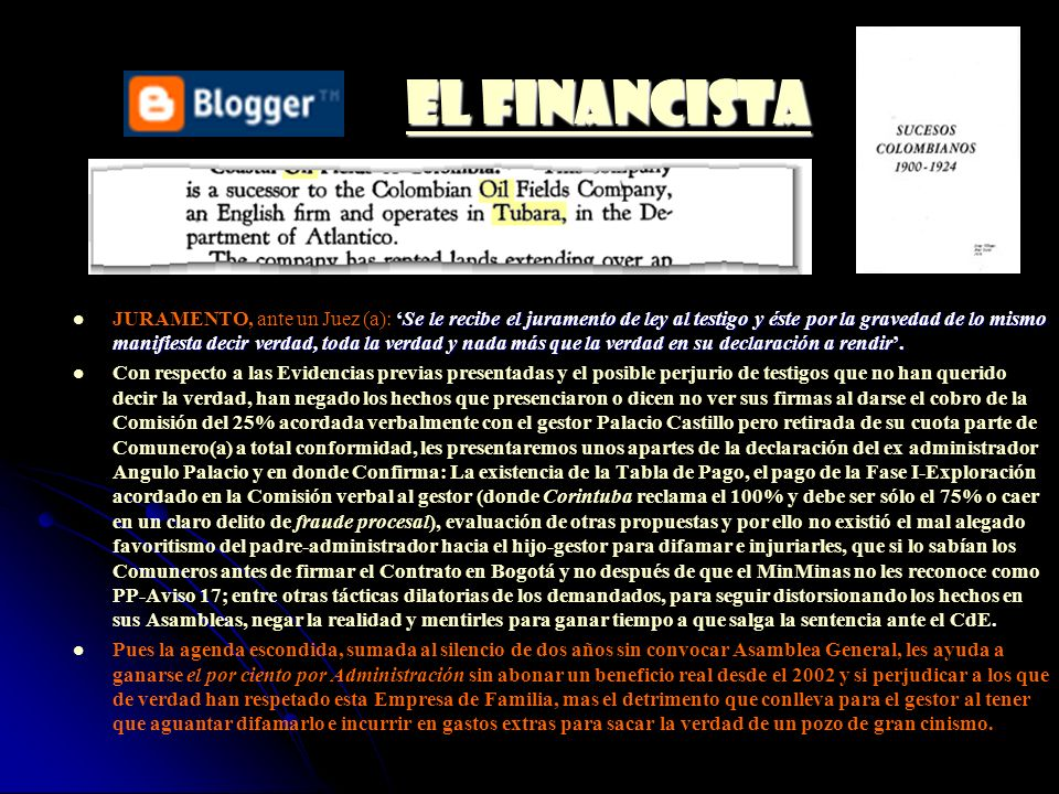 EL FINANCISTA