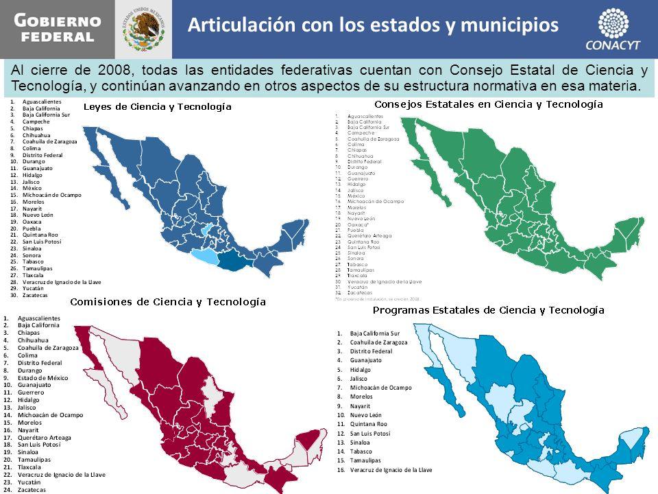 Articulación con los estados y municipios