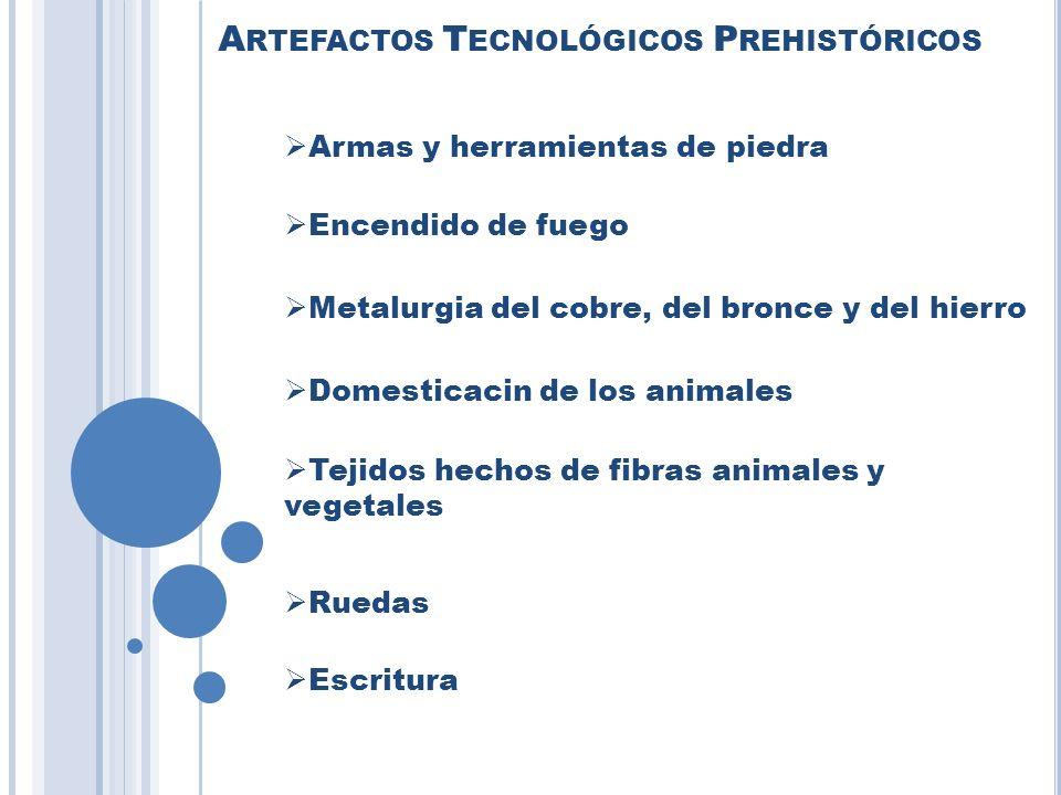 Artefactos Tecnológicos Prehistóricos