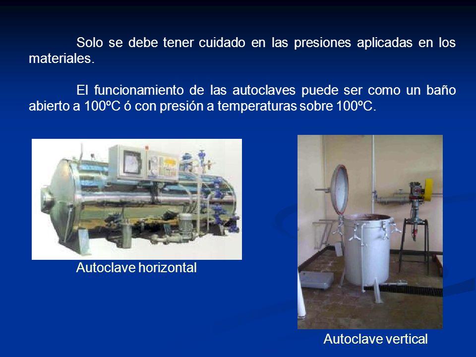 Solo se debe tener cuidado en las presiones aplicadas en los materiales.