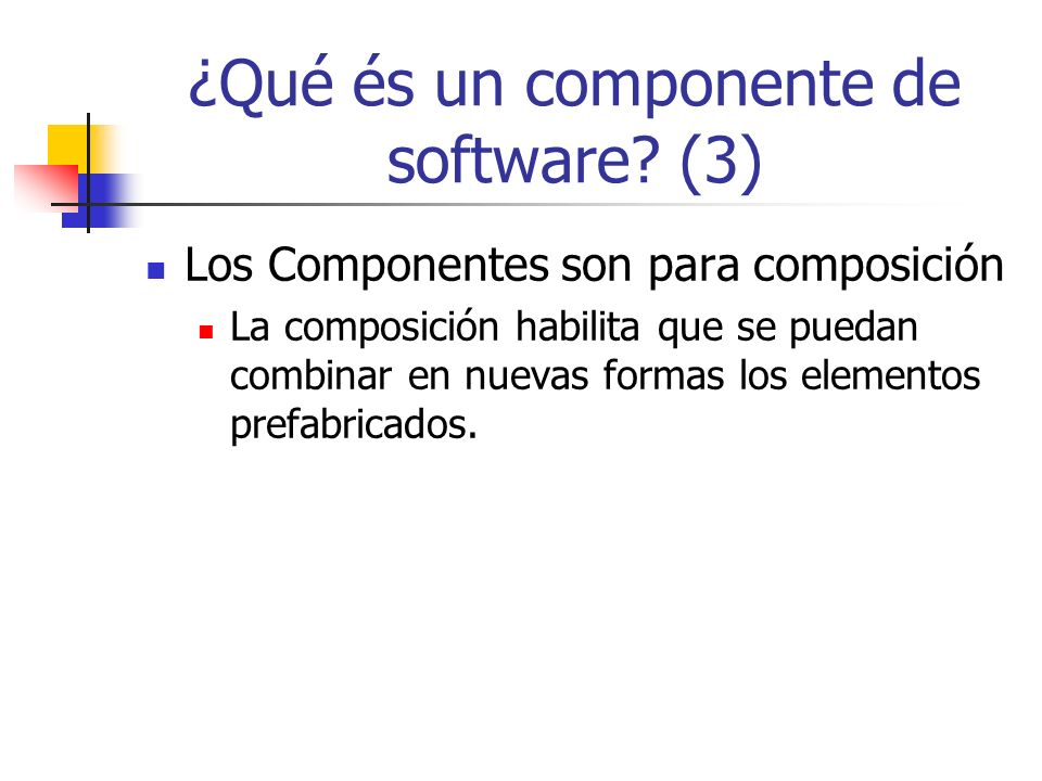 ¿Qué és un componente de software (3)