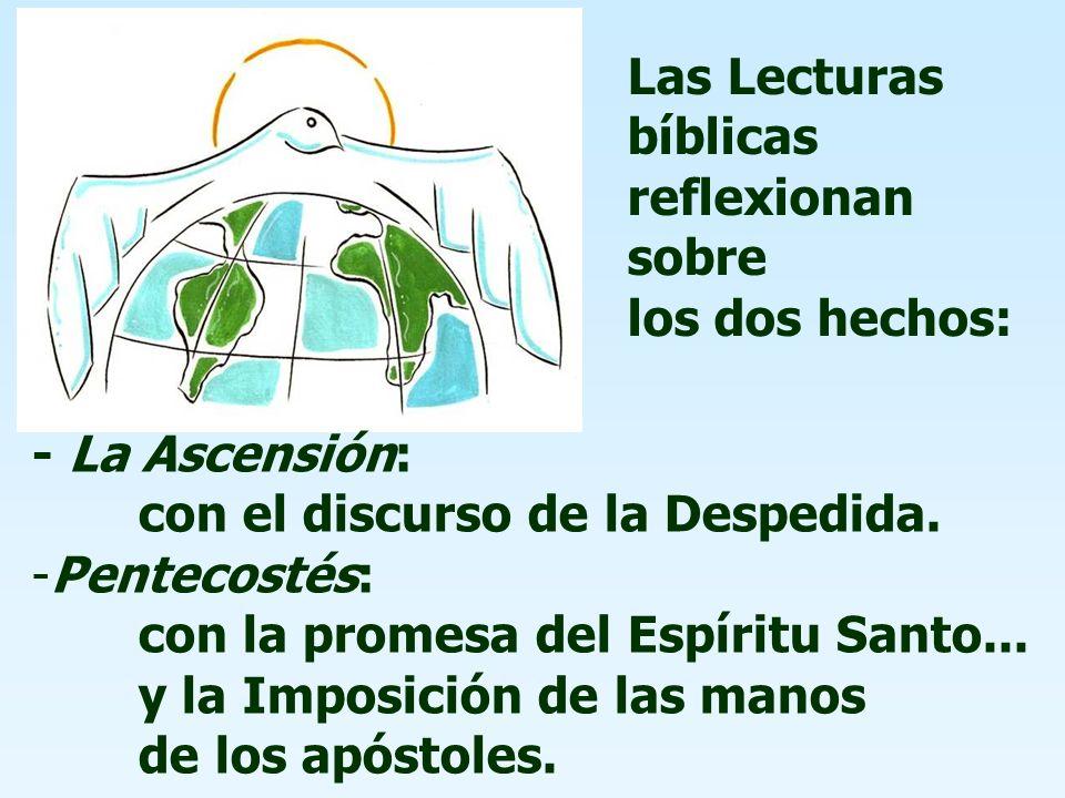 Las Lecturas bíblicas reflexionan sobre los dos hechos: