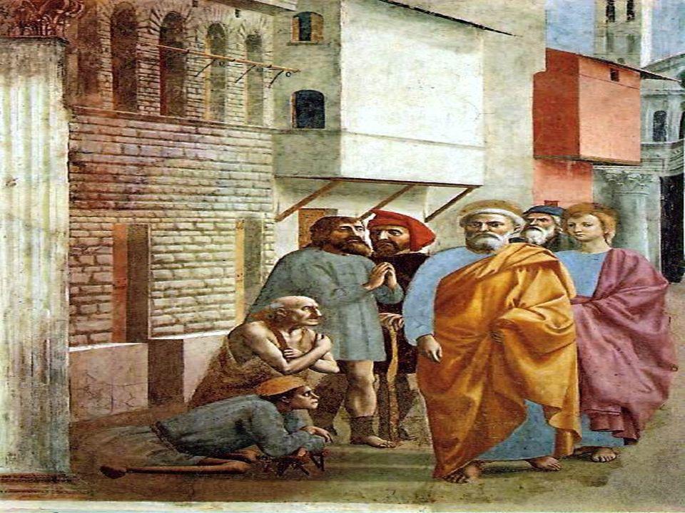 La 1ª lectura narra cómo Pedro y Juan