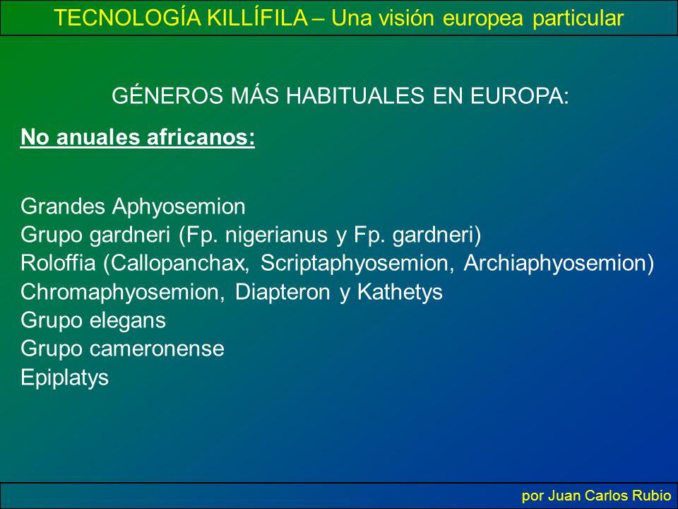 GÉNEROS MÁS HABITUALES EN EUROPA: