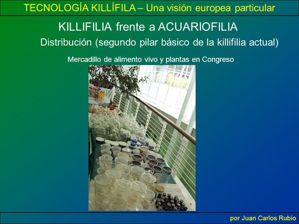 Distribución (segundo pilar básico de la killifilia actual)
