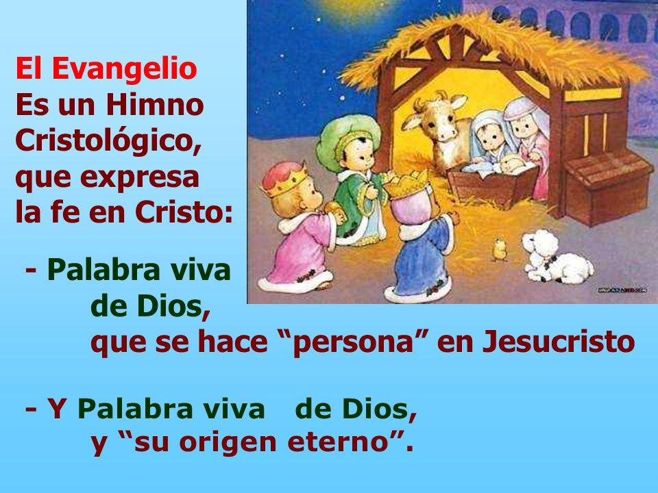 Es un Himno Cristológico, que expresa la fe en Cristo:
