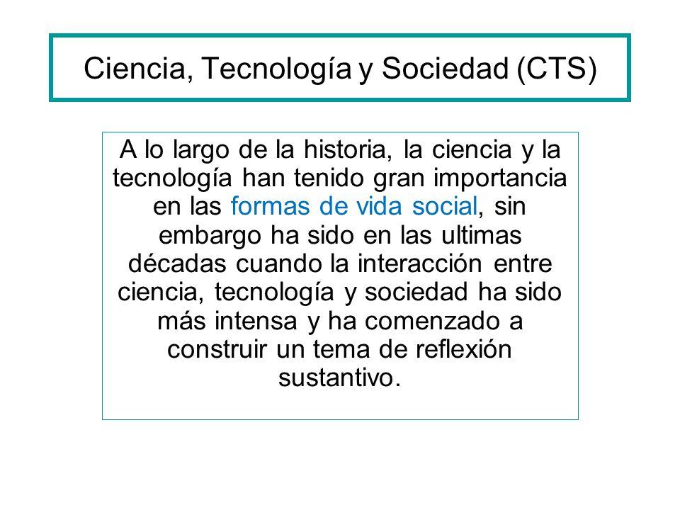 Ciencia, Tecnología y Sociedad (CTS)