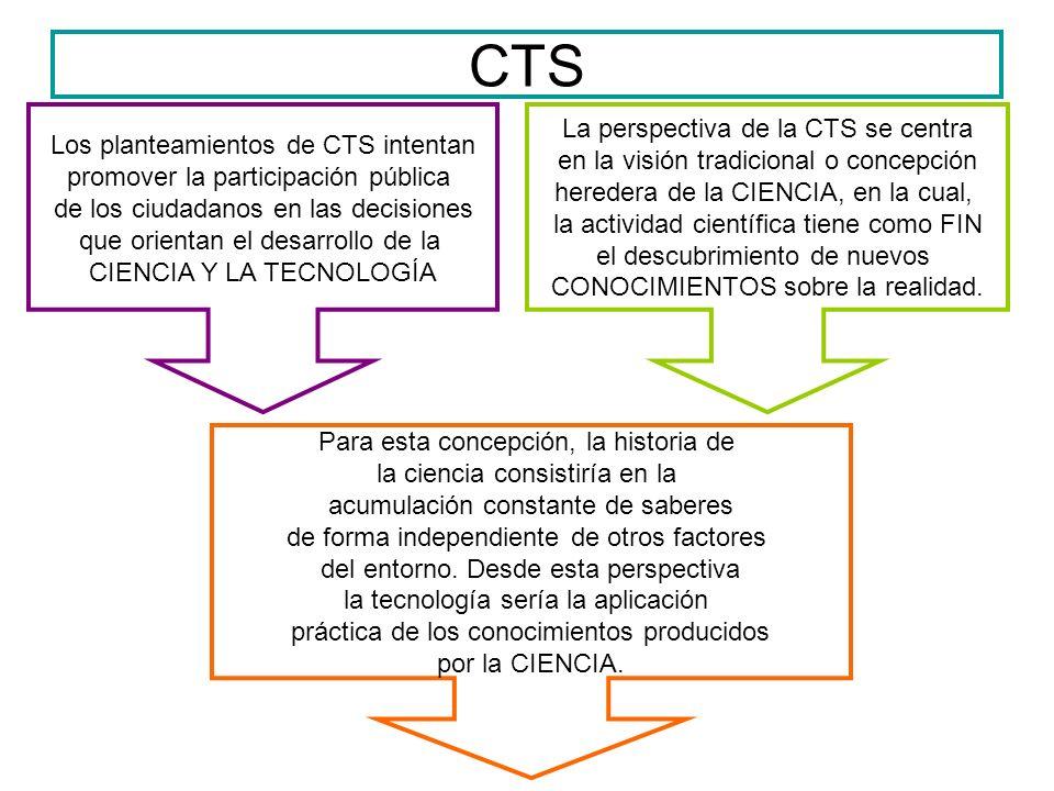 CTS La perspectiva de la CTS se centra