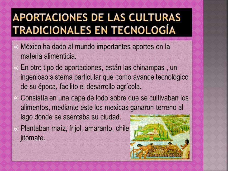 Aportaciones de las culturas tradicionales en tecnología