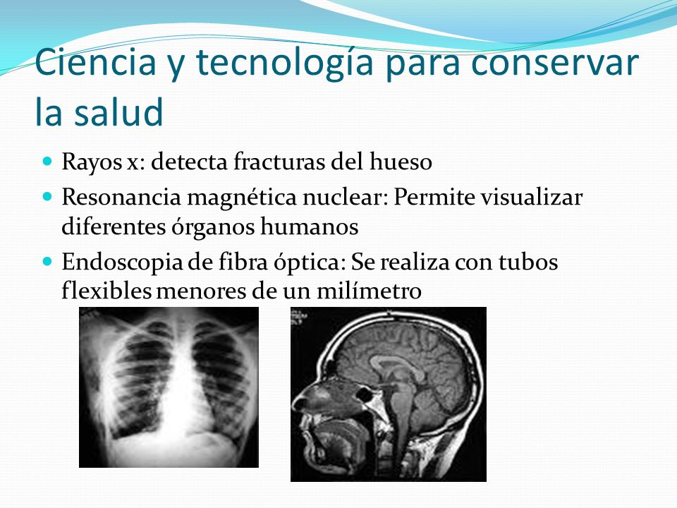 Ciencia y tecnología para conservar la salud