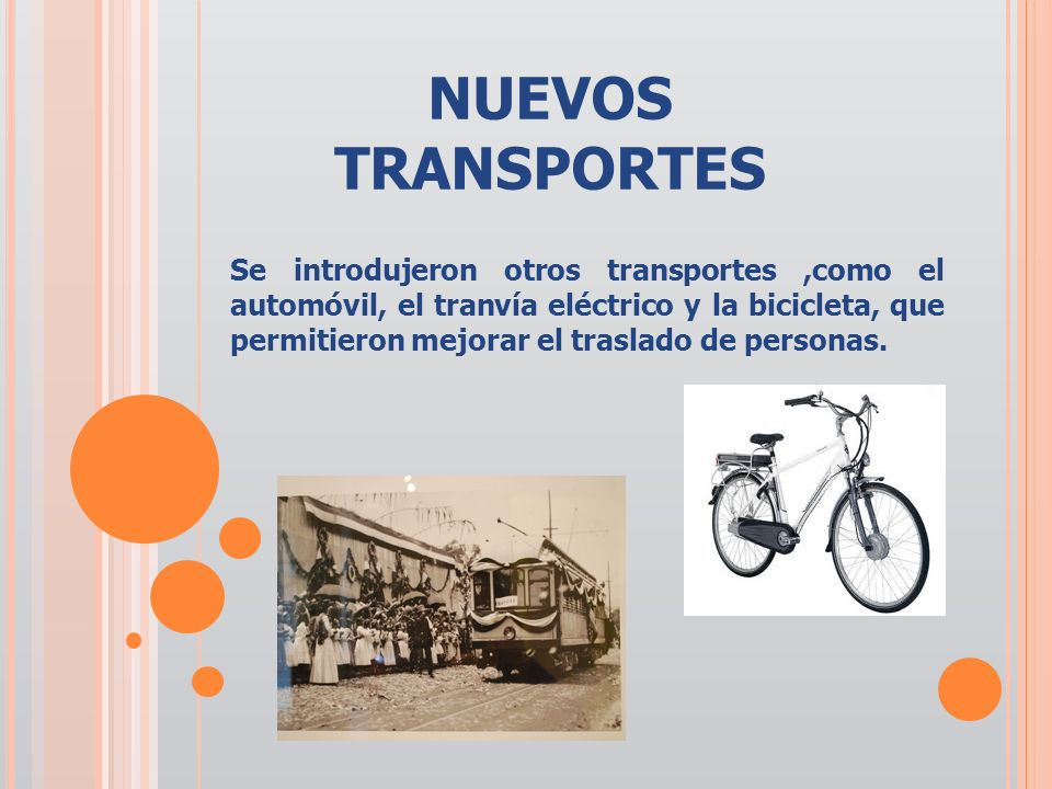 NUEVOS TRANSPORTES