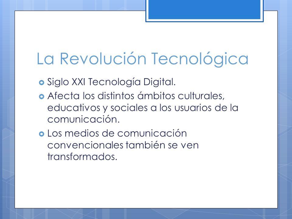 La Revolución Tecnológica