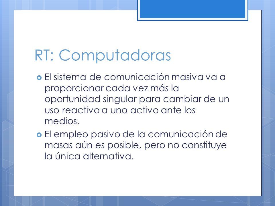 RT: Computadoras