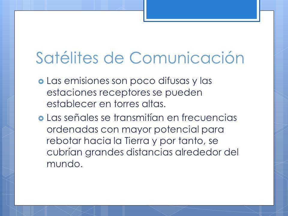 Satélites de Comunicación