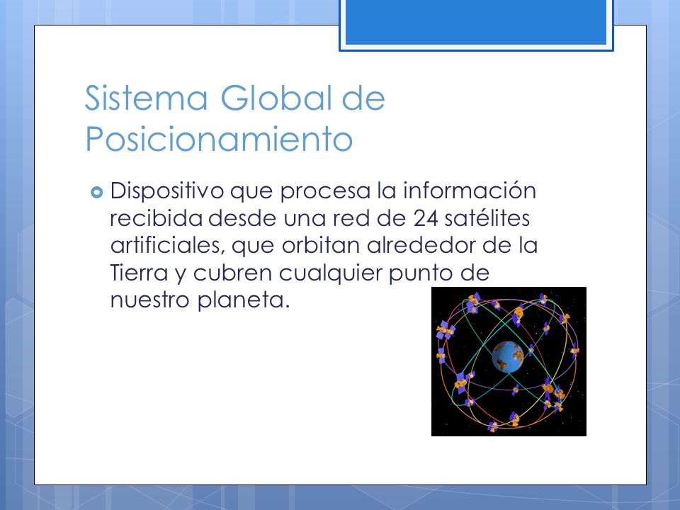 Sistema Global de Posicionamiento
