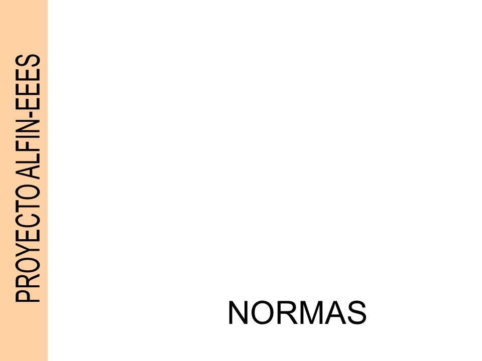 PROYECTO ALFIN-EEES NORMAS