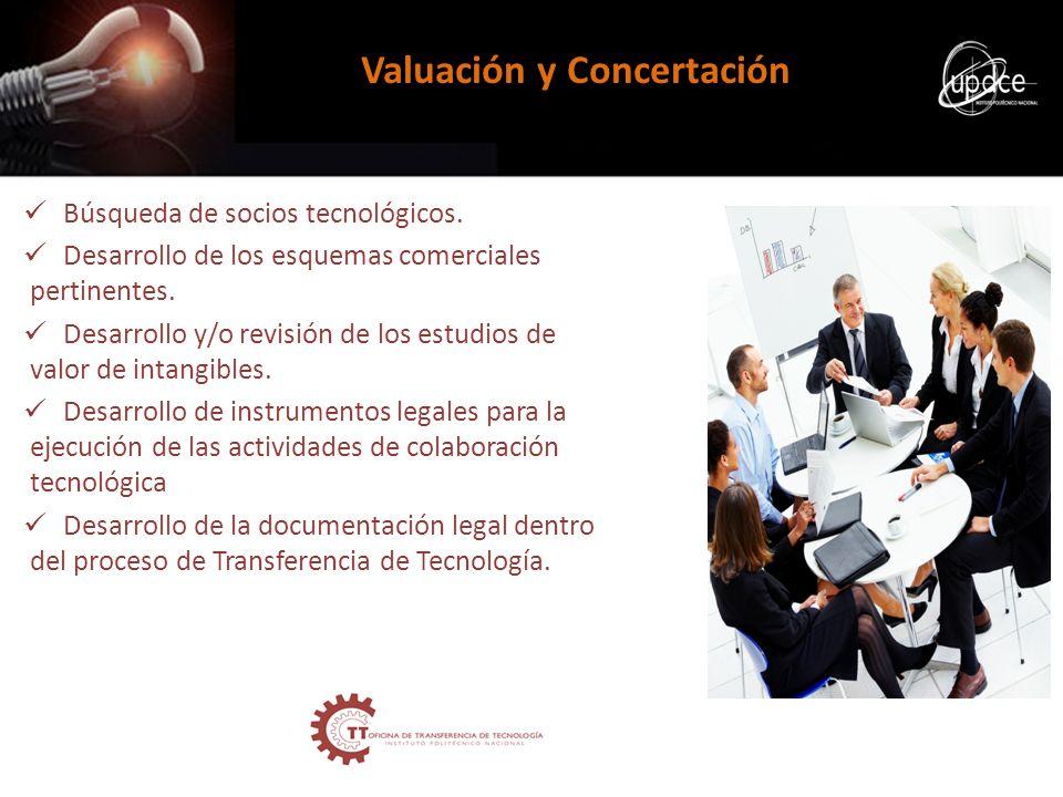 Valuación y Concertación