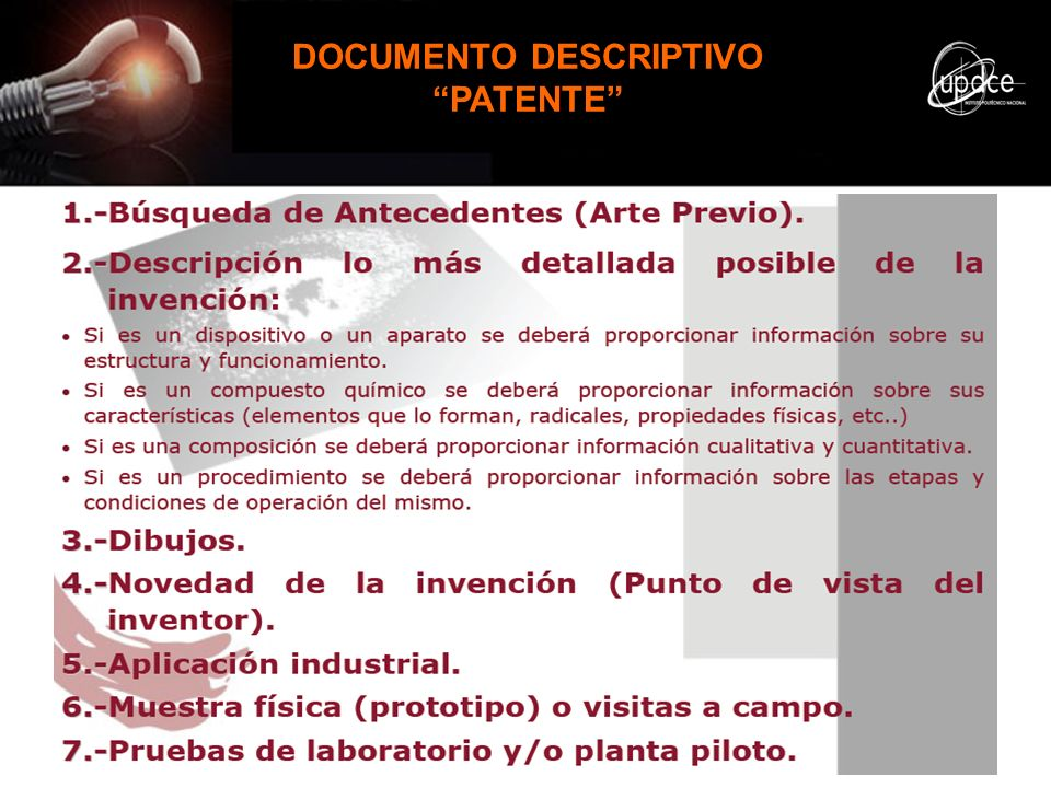DOCUMENTO DESCRIPTIVO