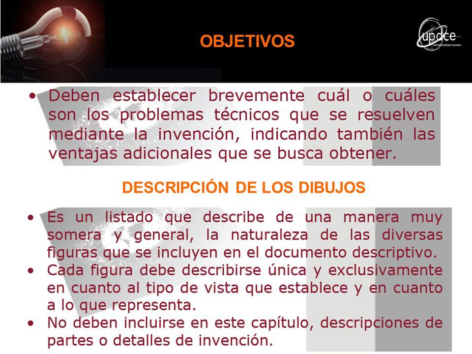 DESCRIPCIÓN DE LOS DIBUJOS