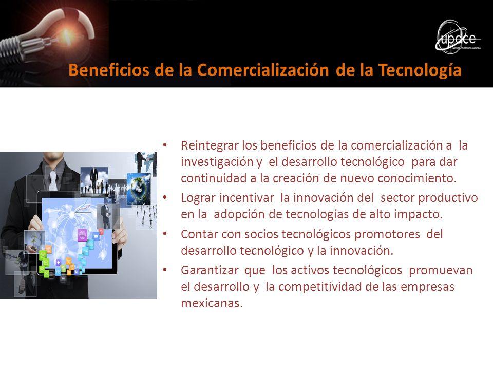 Beneficios de la Comercialización de la Tecnología