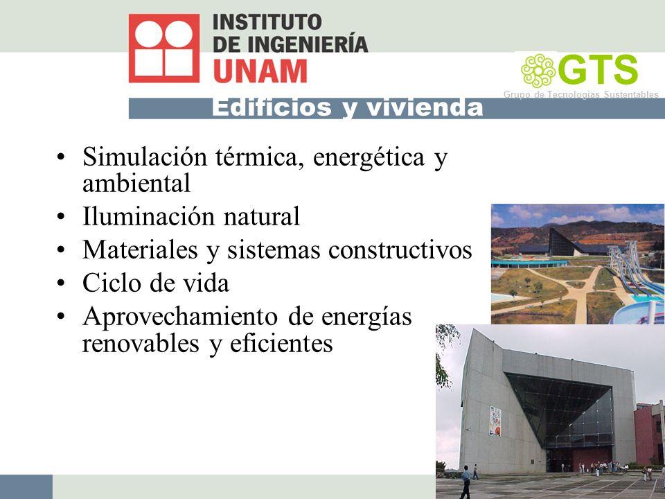 GTS Simulación térmica, energética y ambiental Iluminación natural