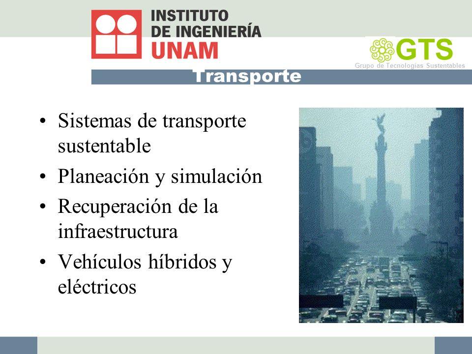 GTS Sistemas de transporte sustentable Planeación y simulación